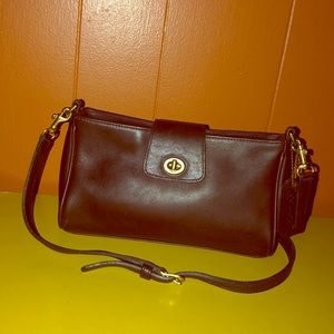 Coach Legacy Vintage Demi Turn Lock Bag 9154